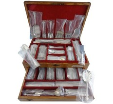 Elegante by Reed & Barton Sterling Silver Flatware Set Service 245 Pieces Huge - $21,000.00