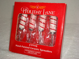 Hand-Painted Ceramic Spreaders - $8.00