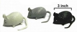 12 SPLAT MOUSE joke mice novelties pet funny gag pranks squish novelty p... - $11.72
