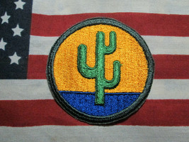 US ARMY WWII 103rd Infantry Division Color SSI Shoulder Patch c/e - $7.00