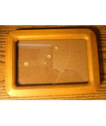 Wooden Picture Frame w/ Stand or Wall Mounts for 3 1/2 by 5 1/2 Picture ... - $5.50