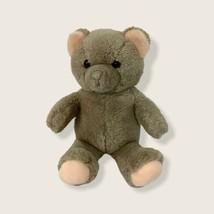 """Dakin 1983 Fun Farm Brown 14"""" Teddy Bear Peach Ears Stuffed Plush Toy An... - $32.71"""