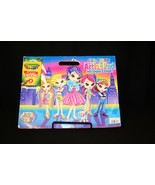 Lisa Frank Artist Pad:8 pk Crayola Crayons Stickers 2007 out-of-print Co... - $124.95