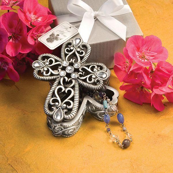 Angel or Cross Trinket Box