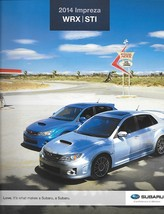 2014 Subaru IMPREZA WRX sales brochure catalog US 14 STI Limited - $10.00