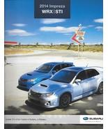 2014 Subaru IMPREZA WRX sales brochure catalog US 14 STI Limited - $10.00