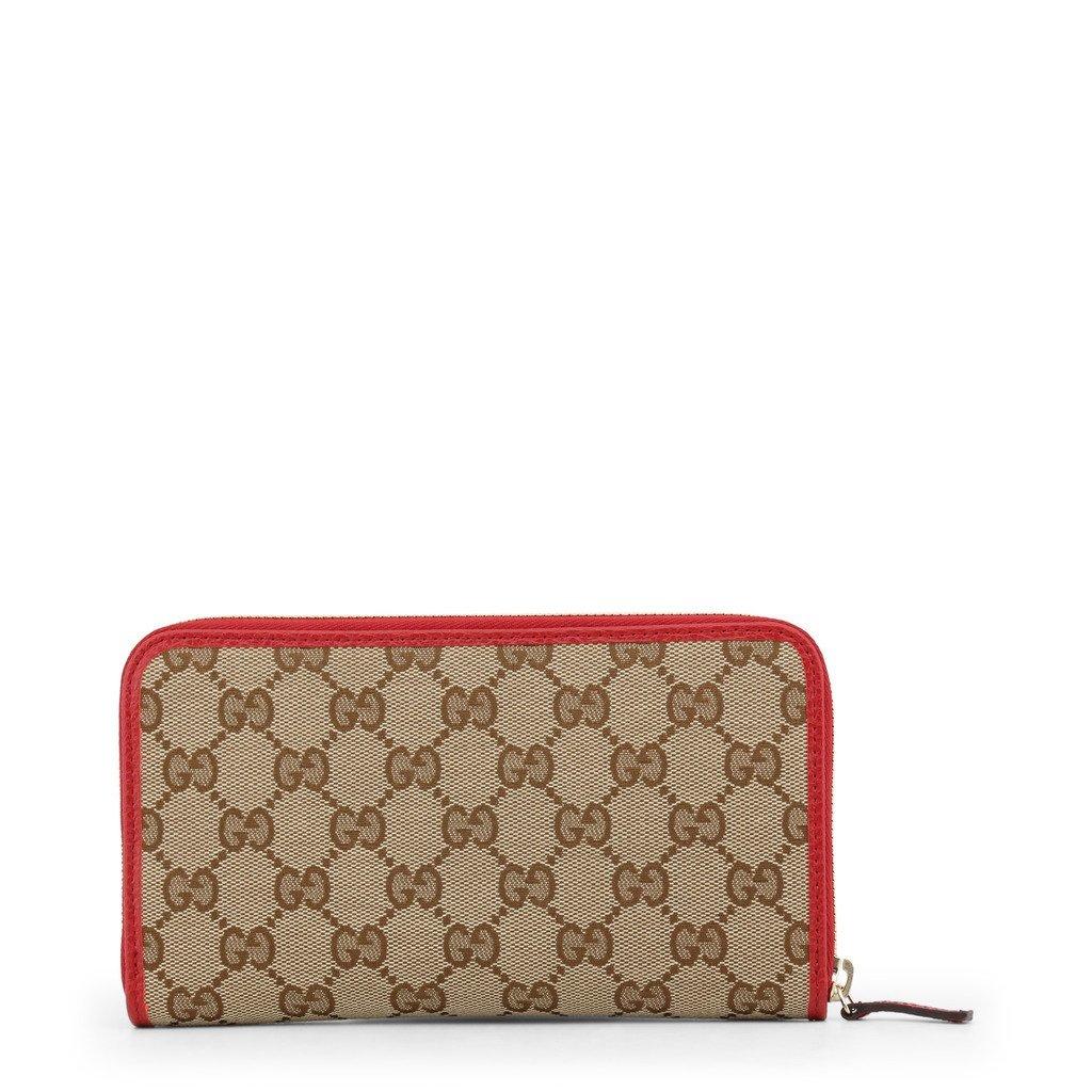 f7afae7629f2 Gucci Beige Brown Zip Around Wallet - $389.99