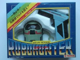 BEAM SENSOR ROBOHUNTER BANDAI vintage toy Unused Japan - $129.99