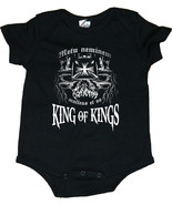 """King of Kings"" WWE Skull Image Triple H Baby Creepers/Bodysuit - $19.79"