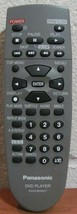 Panasonic N2QAHB000017 Dvd Player Remote DVDRRV30, DVDRV10, DVDRV20, DVDRV30 - $14.49