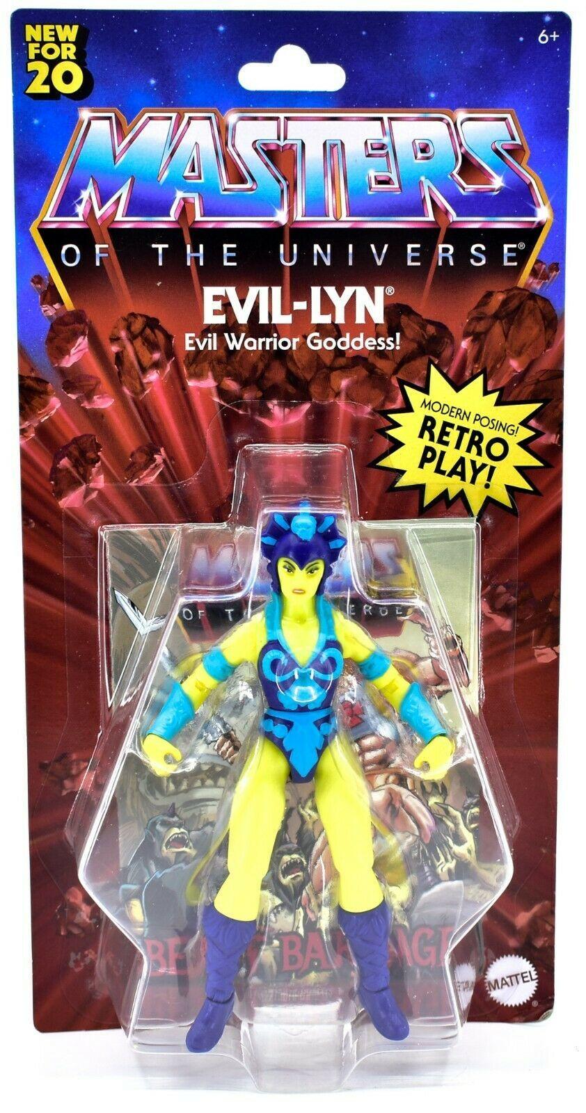 Mattel Masters of the Universe MOTU Evil-Lyn Retro Play Action Figure GNN90