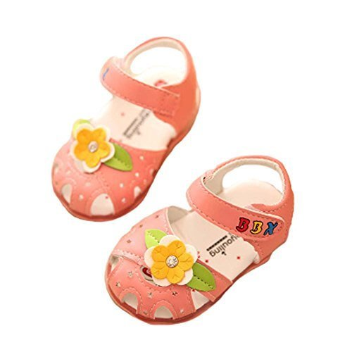 Sandals Princess Shoes 0-1-2 Years Old Baby Toddler Shoes Girls Summer Baby