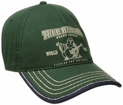 True Religion Men's Cotton Buddha World Tour Baseball Trucker Hat Cap TR1988 image 8
