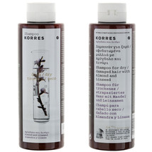 Korres Shampoo For Dry - Damaged Hair Preventing Breakage With Almond & ... - $14.15