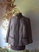 Elisabeth by Liz Claiborne Petite Blue Long Sleeve  Blazer Suit Jacket SZ 16P - $34.74