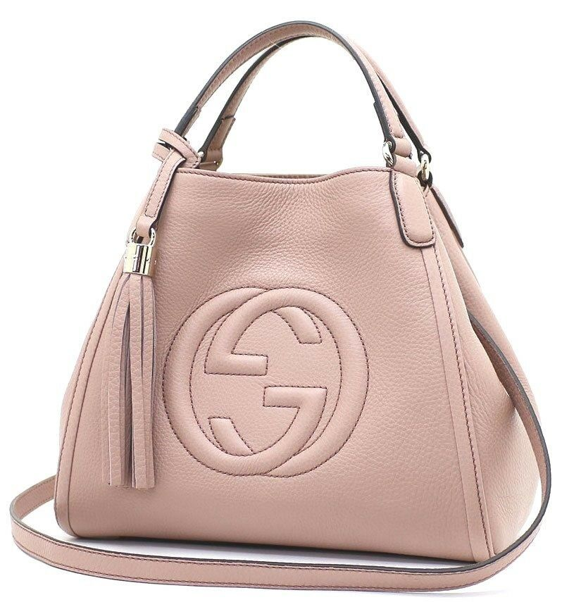 GUCCI SOHO Disco Hand Shoulder Bag Cross Body Calfskin JAPAN EXCLUSIVE L/d Rare