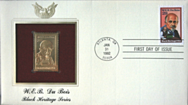 W.E.B DuBois - Black Heritage Series  FIRST DAY OF ISSUE STAMP: Sep. 15,... - $7.50