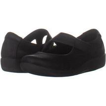 clarks 2087 Slip On Loafer Flats, Black 202, Black, 6.5 W US - $16.31