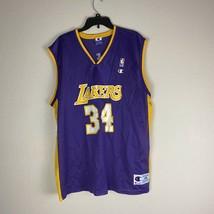 Shaquille O'Neal Champion Jersey Lakers Size XL 48 NBA Kobe Shaq - $199.99