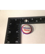 VINTAGE NIXON NOW 1972  PRESIDENTIAL CAMPAIGN BUTTON PIN Americana - $8.86