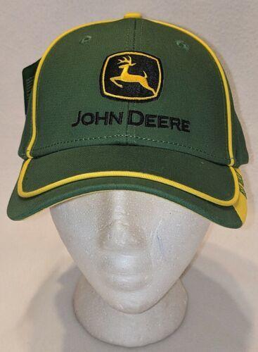 John Deere LP67010 Green Adjustable Baseball Cap With Leaping Deer Logo