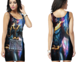 Thanos and infinity gauntlet bodycon dress thumb155 crop