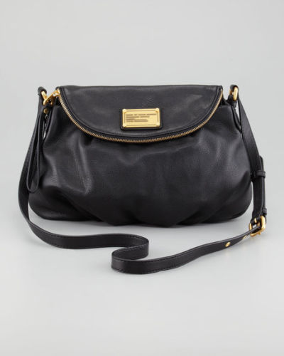 7a9d4e35075c 0. 0. Previous. NWT Marc by Marc Jacobs Classic Q Natasha Leather Crossbody  Bag BLACK Brass AUTH · NWT Marc ...