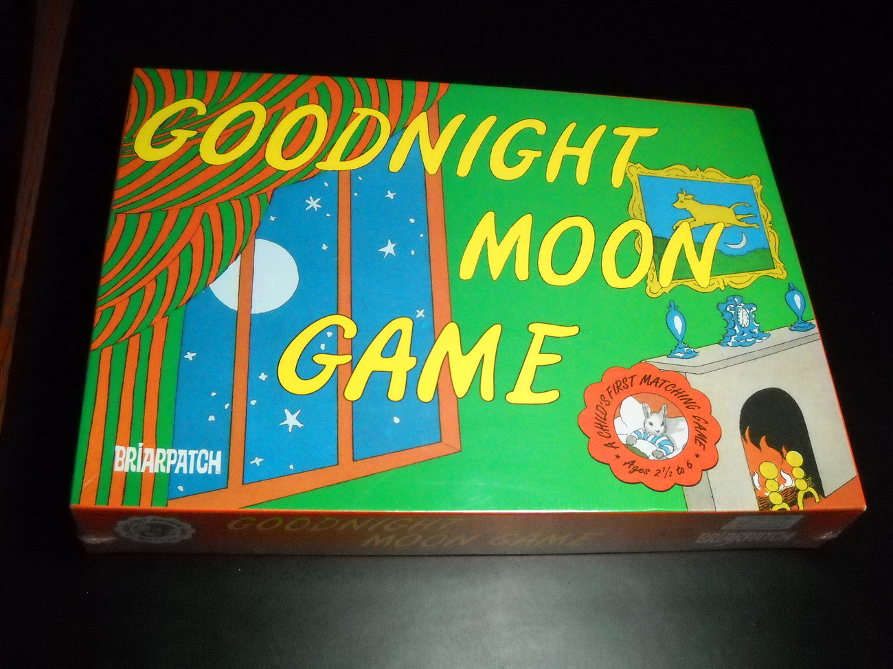 Game briarpatch good night moon  childs first matching game 1997 sealed 01