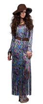 SR90127 (Small) Dream On Maxi Dress - $54.88