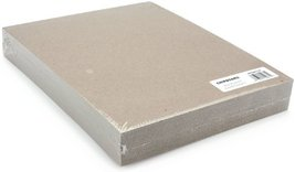 Grafix Medium Weight Chipboard Sheets 85 X 11 Inches Natural 25Pack 303182 - $19.92