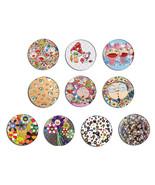 TAKASHI MURAKAMI 村上 隆 pop art pin pinback butto... - $5.50 - $14.25