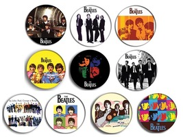 THE BEATLES pin pinback button BADGE Magnet KEYCHAIN SET - $5.50+
