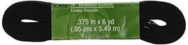Blenders (Countertop) Dritz 9531B Braided Elastic Black 6Yard by 38Inch ... - $11.02