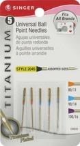 Singer Titanium Universal Ball Point Machine Ne... - $0.00