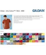 75 Blank Gildan Ultra Cotton T-Shirt Wholesale Bulk Lot ok to mix S-XL &... - $197.00
