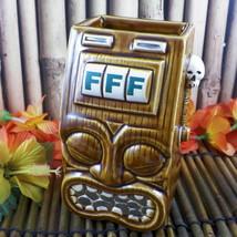 Frankie's Tiki Room Tiki Bandit Mug Slot Machine Squid Las Vegas Swizzle... - $46.39