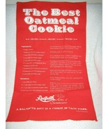 The Best Oatmeal Cookie Cotton Tea Towel Redpath - $11.70
