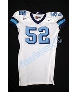 Game Used Worn UNC Tar Heel NIKE Football Jerse... - $59.00