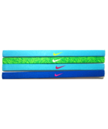 NEW Nike Girl`s Assorted All Sports Headbands 4 Pack Multi-Color #17 - $20.00