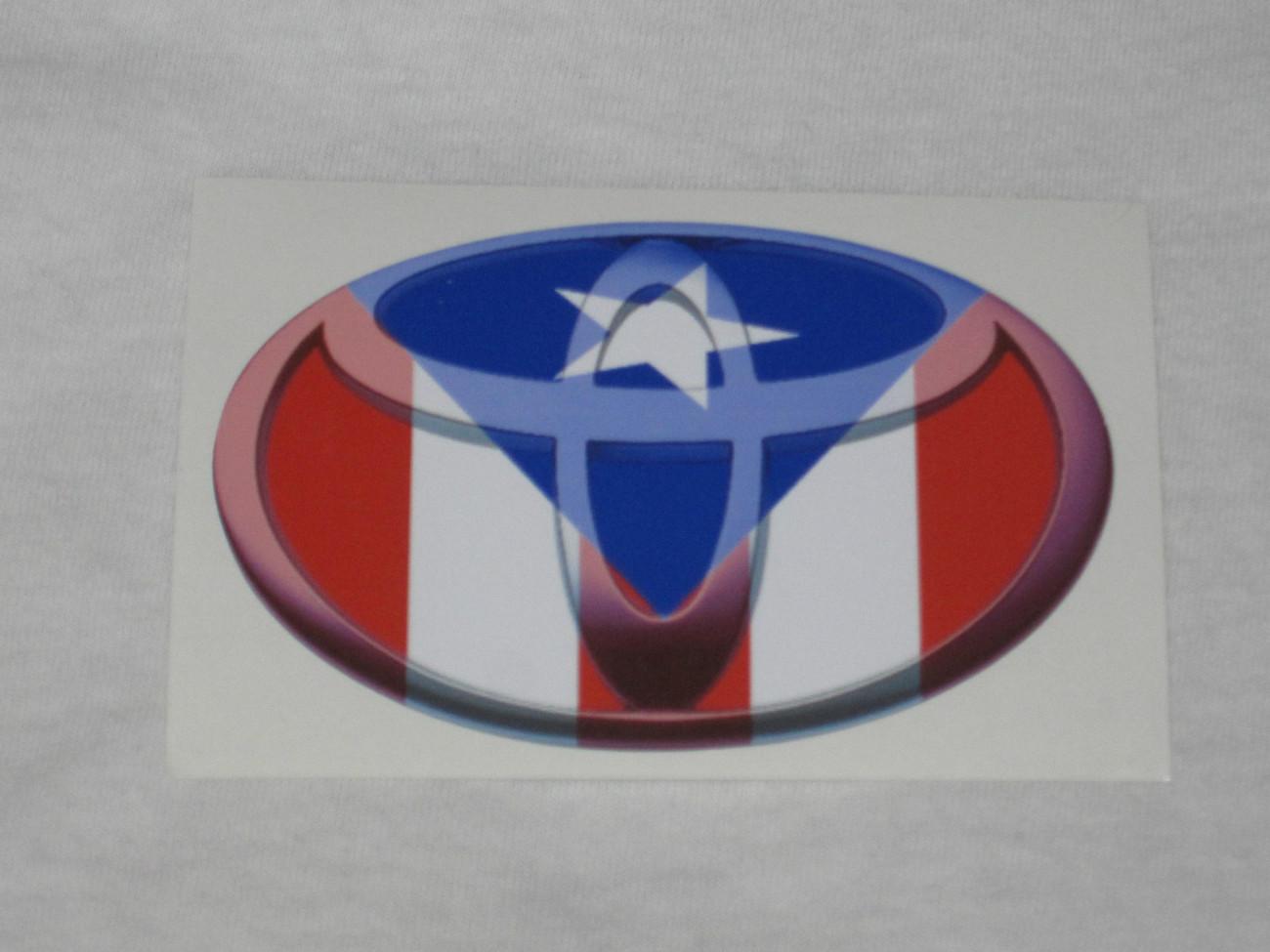 Toyota Sticker, Toyota Vinyl Sticker, Sticker, Toyota