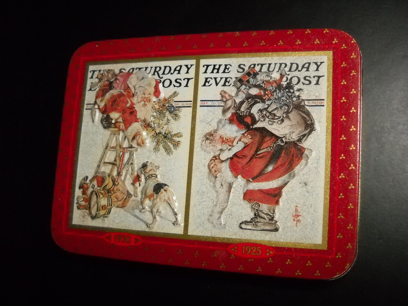 United States Playing Cards Norman Rockwell Saturday Evening Post Sealed in Tin