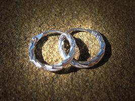 Make me giddy gorgeous and glamorous spell cast hoop earrings MOONSTAR7S... - $20.00