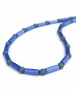 Blue Men's or Unisex Necklace - $26.90
