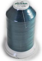 Madeira Aerofil Poly Teal 5000YD Sewing Thread   91288790 - $20.00