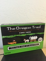 The Oregon Trail Card Game - Based on PC Game NEW Pressman Target Exclus... - $39.99