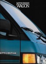 1990 Mitsubishi WAGON VAN sales brochure catalog US 90 LS Delica - $10.00