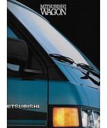 1990 Mitsubishi WAGON VAN sales brochure catalog US 90 LS Delica Space - $10.00