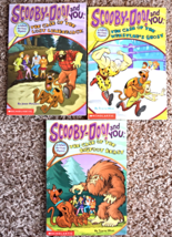 3 Scooby-Doo and You Books from Scholastic - $3.99