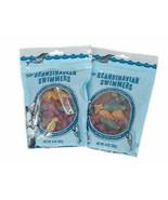 2 PACK Trader Joe's Scandinavian Swimmers Gummy Candy Ocean Shapes Vegan Natural - $16.73