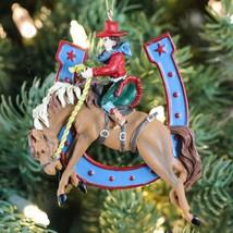 "Kurt Adler 5"" Cowboy Horseshoe Ornament 2/assor... - $19.75"